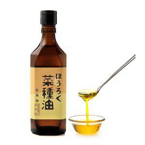 ほうろく菜種油 伝承油